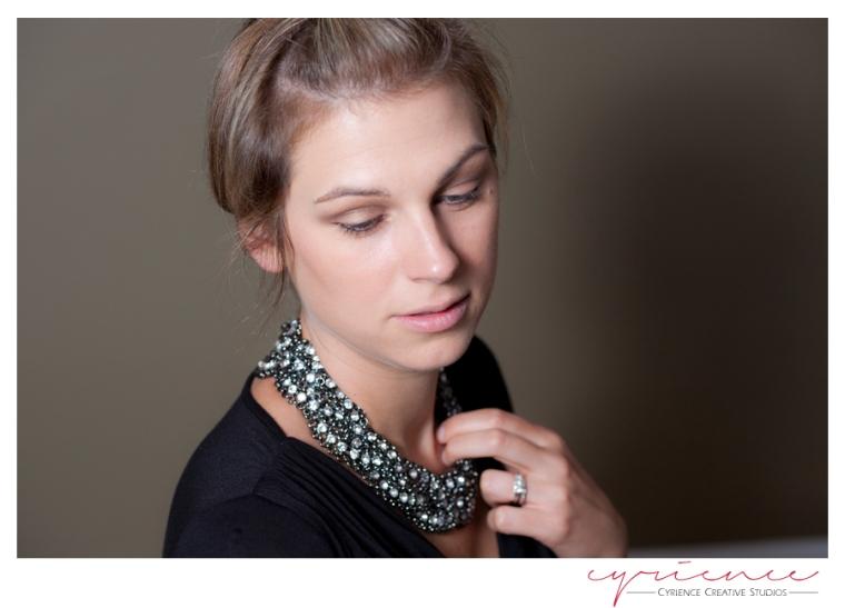 Bold Necklace, Beautiful Girl