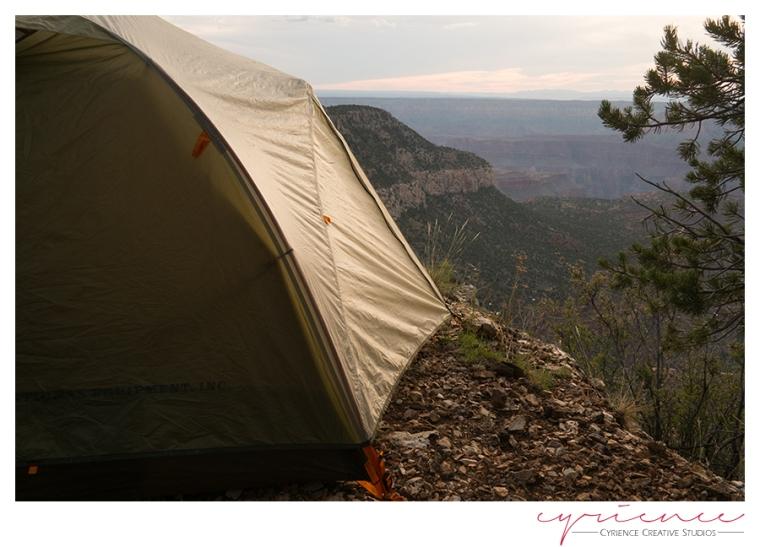 Campsite, Powell Plateau