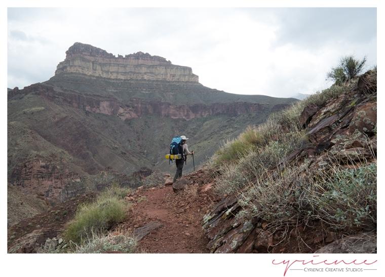 North Bass Trail, North Rim, Grand Canyon