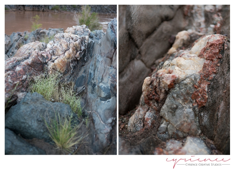 rocks at the Colorado River, North Bass Trail, North Rim, Grand Canyon