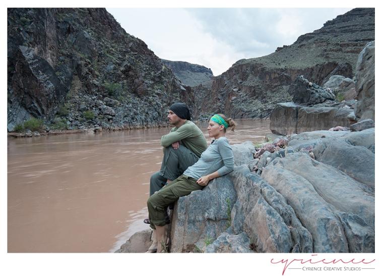 Colorado River, North Bass Trail, North Rim, Grand Canyon