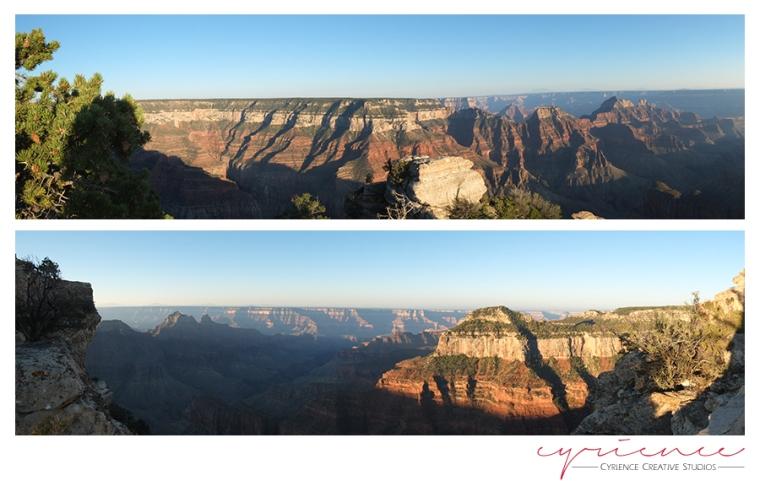 Sunrise, Sunset, Grand Canyon Lodge, North Rim, Grand Canyon