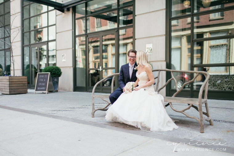 Intimate Wedding at the Crosby Street Hotel in Manhattan.