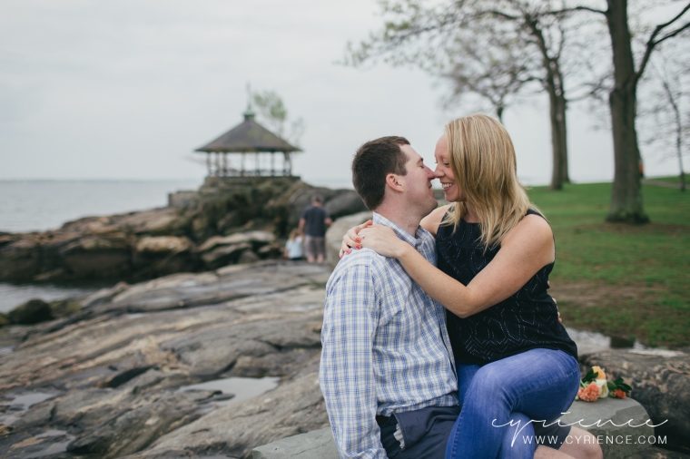 Larchmont engagement session in Manor Park