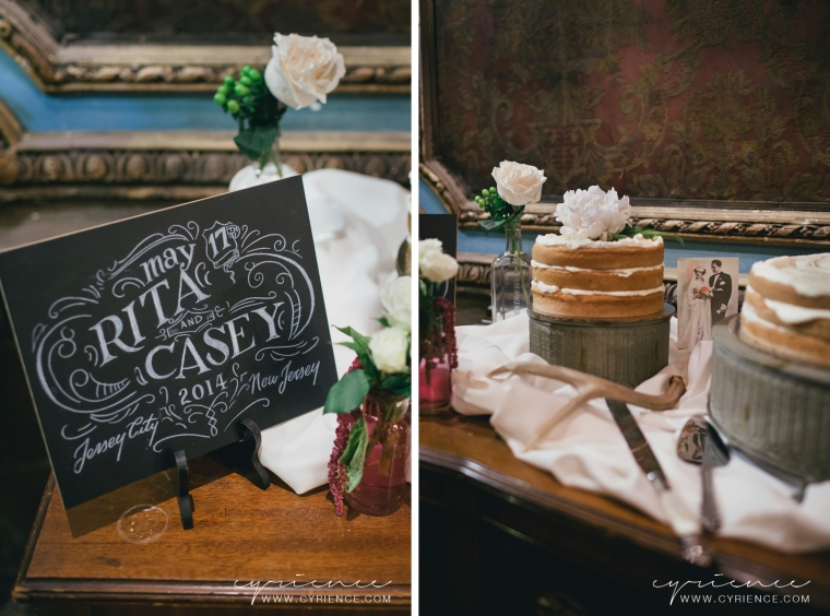 Victorian-inspired wedding at Van Vorst Park and the Landmark Loew's Theater in Jersery City, NJ