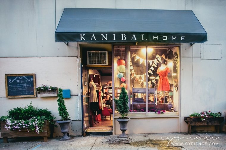 Kanibal Home store front in Jersey City, NJ