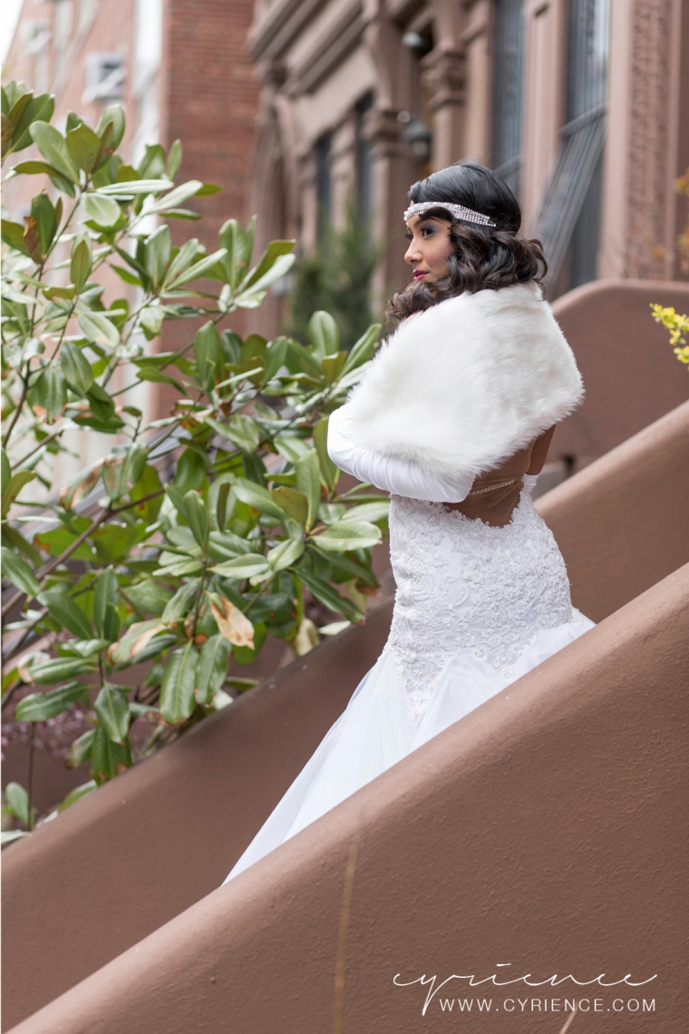 Harlem Renaissance Inspired Wedding Shoot featured on BlackBride.com