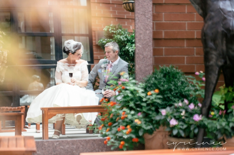 Meg and Andy from Donegal, Ireland and their Central Park Elopement in New York City.