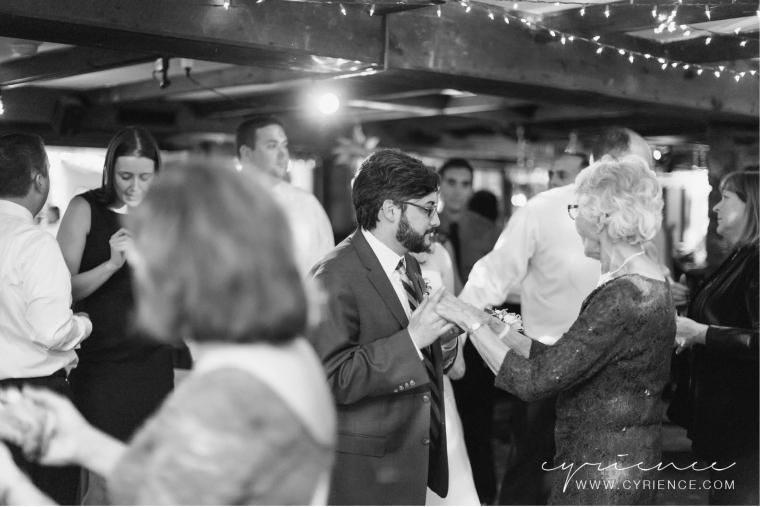 Nancy & Eric's romantic, modern wedding at the Centre Bridge Inn, New Hope, Pa.