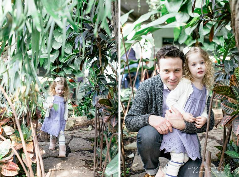 Family Lifestyle Photo Shoot at the Garfield Park Conservatory, Chicago, IL