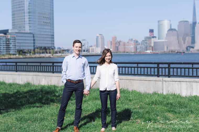 Sarah and Gerald's Life. Documented Lifestyle Engagement Session in Liberty State Park and downtown Jersey City, NJ.