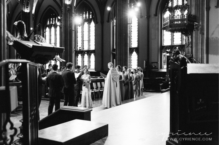 Natural, elegant wedding at Trinity Church and W83 Loft in Manhattan, New York City Wedding Photography