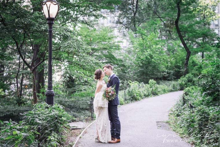 Natural, elegant wedding at Trinity Church and W83 Loft in Manhattan, New York City Wedding Photography